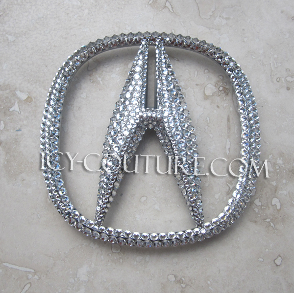 Bling Your ACURA Emblems Choose Your Set - Acura badge