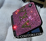 Sorority theme, or your Initials- Swarovski ICY Compact Mirror