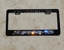 AMG Bling License Plate Frame made with Swarovski Crystals