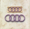 Bling Your AUDI emblem in Swarovski crystals! Choose Your Set & Crystal Color!