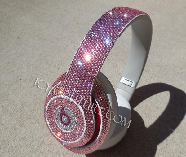 Pink Diamond Headphones