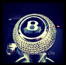 ICY Couture Swarovski Crystal Bentley Gear Shift