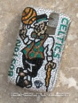 Boston Celtics - Custom Crystal Phone Bling by Icy Couture
