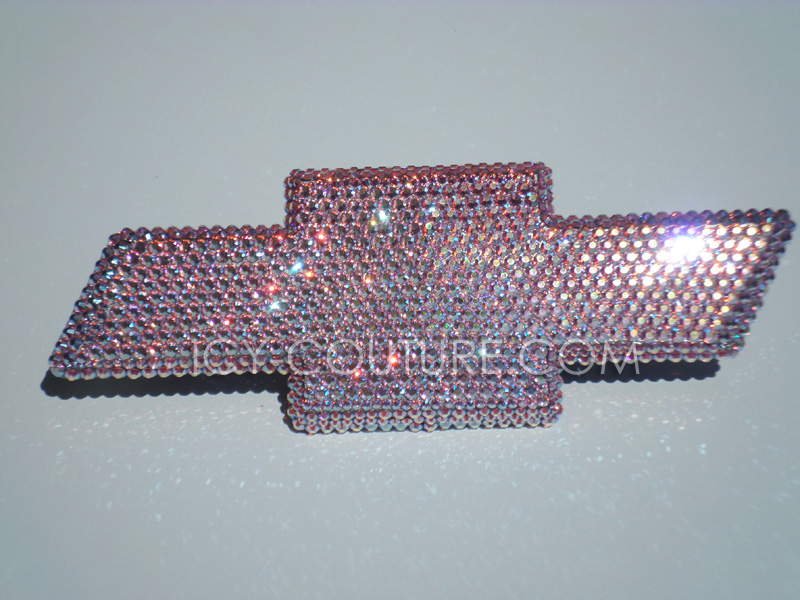 Crystal Chevy Silverado Emblems With Swarovski Bling What Your Color