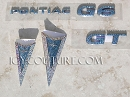 Crystal PONTIAC Emblems! (select your emblem)