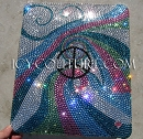 Waves of Peace - bedazzled Crystal iPad Case. Whats your design?