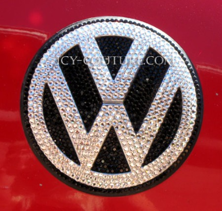 bling  volkswagen beetle emblem whats  color