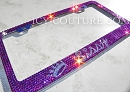 Your Message - ICY Couture Custom Crystal License Plate Frame.