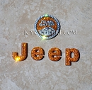 ICY Couture Bedazzled JEEP Emblems! Select Your Crystal Set.