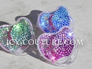 Fading Colors Custom Crystal BABY PACIFIER