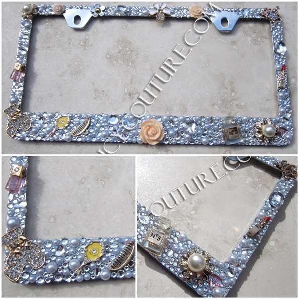 DESIGN YOUR OWN 3D Rhinestone License Plate Frame by ICY Couture ...