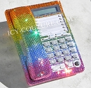 FUN! :) Rainbow Colors Swarovski Crystal Bling Home Phone