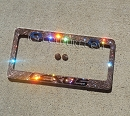 LEXUS Swarovski Crystal Custom License Plate Frame. Whats Your Colors?