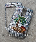Happy Island - Swarovski iPhone 3G Metal case. Whats your phone?