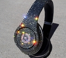 Black Diamond BEATS by DRE Bedazzled Headphones. Whats Your Color?