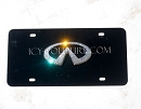 Crystal INFINITI 3D Logo License PLATE.  Whats Your Color?