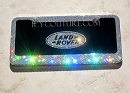 ICY COUTURE LAND ROVER/RANGE ROVER BLACK PLATE