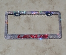 LEXUS Swarovski License Plate Frame. Whats Your Colors?