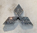 Crystal Mitsubishi emblems! Choose your emblem