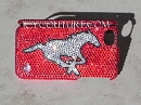 Mustang Running Horse Phone Cover Bling. Whats Your Colors?