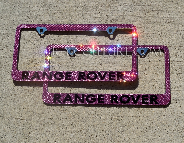 Sparkling-hot Range Rover License Plate Frame. Whats Your ...