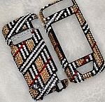 Crystal Plaid pattern - Swarovski phone covers. Bling My Phone!