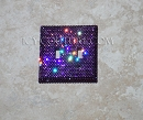 Light Switch Cover Plate with Swarovski Crystals: Single, Double. Whats Your Color?