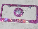 ICY BMW Queen - bedazzled crystal BMW SET: Pink,  Black, Any Color!