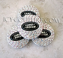 Crystallized RANGE/LAND ROVER Center Wheel Caps. Whats your color?