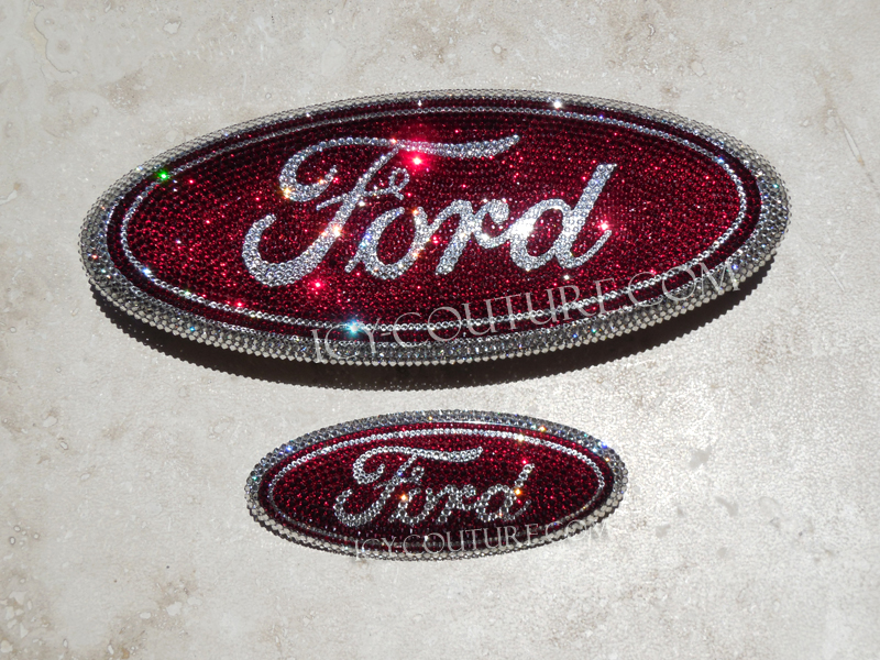Swarovski Crystal Ford Fusion Emblems Select Your Set Whats Your