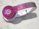 Swarovski BLING PINK OMBRE Custom Bedazzled BEATS. Whats Your Color?