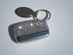 Custom bedazzled Car Key