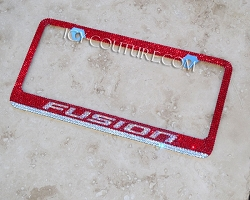 FUSION License Plate Frame for FORD FUSION. Whats Your color?