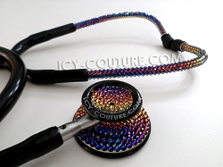 Meredian Ombre Stethoscope with Swarovski Crystals. Whats Your Color?