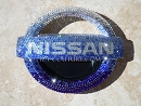 OMBRE Effect NISSAN emblem Swarovski Crystals.  Whats your color? Select Your Set