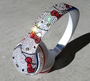 Genuine - Limited Edition - Hello Kitty Solo 2 Beats by Dre ICY Coutured with Swarovski Crystals