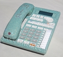 Tiffany Blue Crystal Bling Home Office Desk Phone