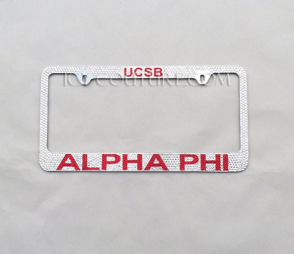 Custom License Plates and Personalized License Plate Frames