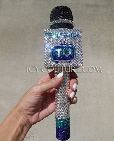 how to make a mic flag