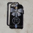 3D Crystal Bow  ICY Couture Crystal Phone Cover Design
