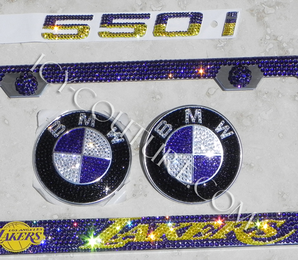 LAKERS FAN SET - custom Crystal Sports themes of AUTO ICING