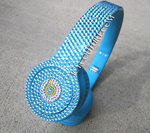 Baby Blue Crystal Beats By Dre Whats Your Color