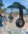 JET BLACK Beats by Dr. Dre Bedazzled Headphones. Whats Your Color and Crystal Size?