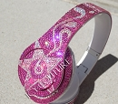 SUPER STAR - Bling Beats Design with Swarovski Crystals!