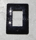 Rocker Type Single Light Switch Crystal Bling Cover. Whats your color? Select Your Switch Type.