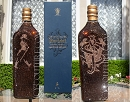 COLLECTOR's ITEM: ICY Couture Crystal Bottle of Johnnie Walker's Blue Label Whisky
