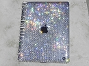 Diamond Clear with Apple logo - Crystal iPad cover