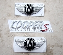 Crystal MINI-COOPER Emblems. Select Your Set!