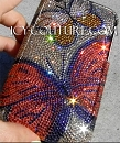 Venetian Butterflies - ICY Couture Phone Design with Swarovski Crystals.