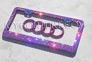 Crystal PINK Bling License Plate Frame! Whats Your color?